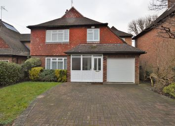 Thumbnail 4 bed detached house to rent in Hamilton Avenue, Pyrford, Woking