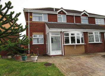Thumbnail 3 bed semi-detached house to rent in Peake Drive, Tipton