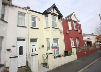 Thumbnail 3 bed terraced house for sale in Empire Road, Torquay