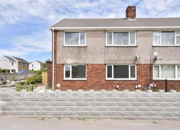 Thumbnail 2 bed flat for sale in Bryngolau, Gorseinon, Swansea