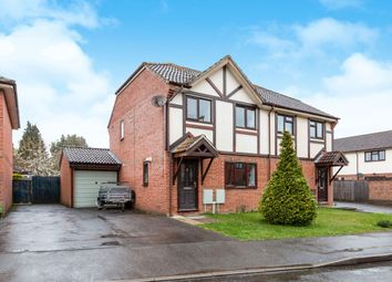Thumbnail 3 bed semi-detached house to rent in Strawberry Fields, Bramley, Tadley