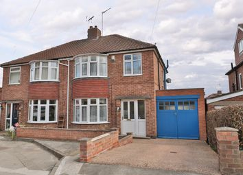 Thumbnail 3 bed semi-detached house for sale in Howe Hill Close, York, North Yorkshire