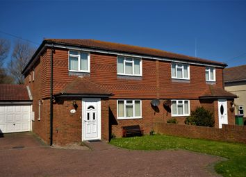 Thumbnail 3 bed semi-detached house for sale in Coast Drive, Greatstone, New Romney, Kent