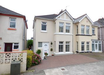 Thumbnail 3 bedroom semi-detached house for sale in South Down Road, Plymouth