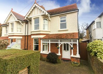Thumbnail 4 bed semi-detached house for sale in Luton Avenue, Broadstairs, Kent