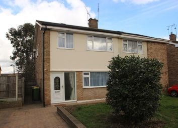 Thumbnail 3 bed semi-detached house to rent in Essex Close, Rayleigh
