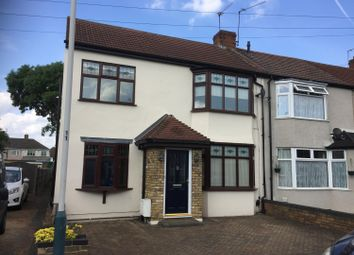 Thumbnail 4 bedroom semi-detached house to rent in Harwood Avenue, Hornchurch