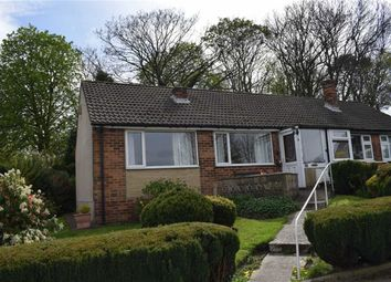 Thumbnail 2 bedroom semi-detached bungalow for sale in 21, Holmfield Close, Clayton West
