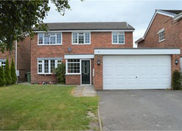Thumbnail 4 bed detached house for sale in Heythrop Drive, Heswall