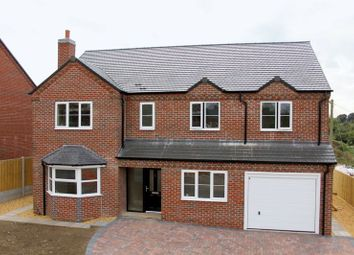 Thumbnail 5 bed detached house for sale in Newcastle Road, Market Drayton