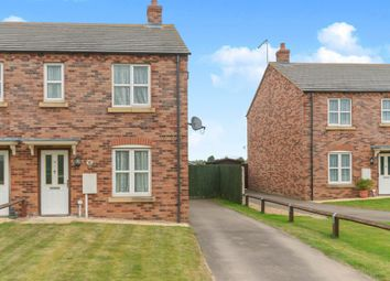 Thumbnail 2 bed semi-detached house for sale in Cobgate, Whaplode, Spalding