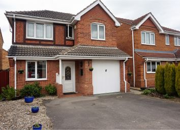 Thumbnail 4 bed detached house for sale in Elm Crescent, Kinsley, Pontefract