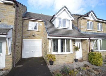 Thumbnail 3 bed town house for sale in Hawthorne Way, Shelley, Huddersfield, West Yorkshire
