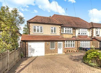 Thumbnail 5 bed semi-detached house for sale in Buckingham Avenue, Whetstone