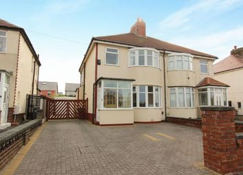 Thumbnail 3 bed semi-detached house for sale in Alderley Avenue, Blackpool, Lancashire