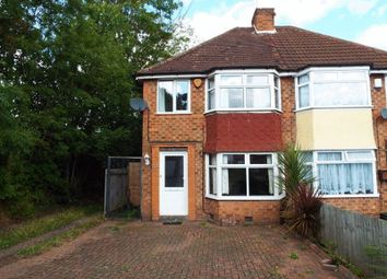 Thumbnail 3 bed semi-detached house to rent in Reservoir Road, Selly Oak, Birmingham