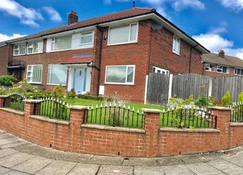 Thumbnail 4 bed semi-detached house to rent in Standmoor Road, Whitefield, Manchester