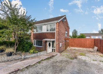 Thumbnail Semi-detached house for sale in Kimberley Drive, Uttoxeter
