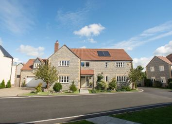 Thumbnail 5 bed detached house for sale in The Levels, Meare, Glastonbury