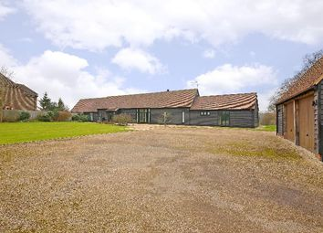 Thumbnail 5 bedroom barn conversion for sale in Victor, Radlett Road, Colney Street, St.Albans