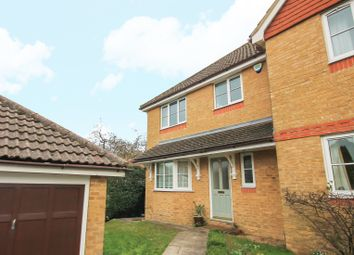 Thumbnail 3 bedroom semi-detached house to rent in The Meades, Dormansland, Lingfield