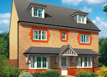 "Thumbnail 5 bed detached house for sale in ""Warwick"" at Bearscroft Lane, London Road, Godmanchester, Huntingdon"