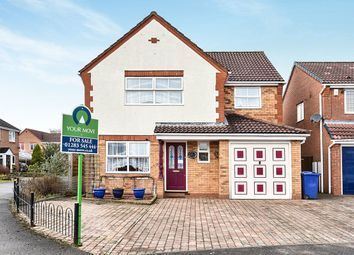 Thumbnail 4 bed detached house for sale in Harrison Close, Branston, Burton-On-Trent