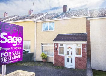 Thumbnail 2 bed terraced house for sale in Waun Road, St Dials, Cwmbran