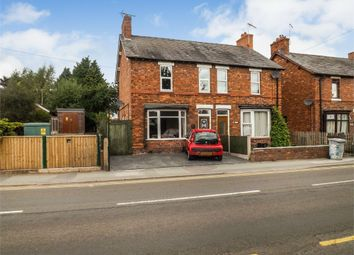 Thumbnail 3 bed semi-detached house for sale in Crewe Road, Haslington, Crewe, Cheshire