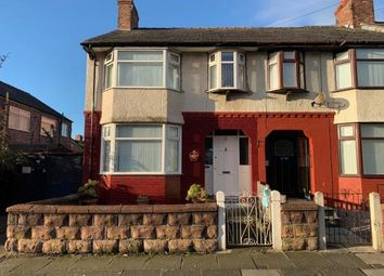 Thumbnail 3 bed end terrace house for sale in Bradville Road, Walton, Liverpool