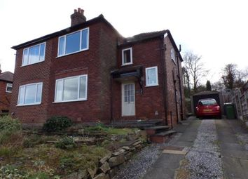 Thumbnail 3 bedroom semi-detached house for sale in Strines Road, Strines, Stockport, Greater Manchester