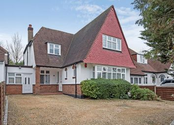 Thumbnail 4 bed detached house to rent in Hillside Road, Northwood