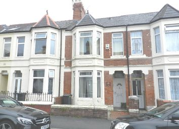Thumbnail 3 bed terraced house for sale in Malefant Street, Cardiff