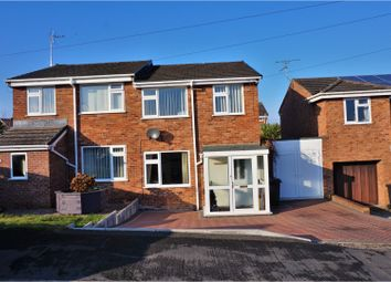 Thumbnail 3 bed semi-detached house for sale in Rhodfa Helyg, Leeswood