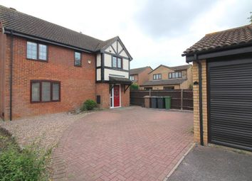 Thumbnail 3 bed detached house for sale in Carnegie Gardens, Luton, Bedfordshire