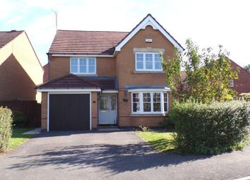 Thumbnail 4 bed detached house for sale in Rushby Road, Ellistown, Coalville, Leicestershire