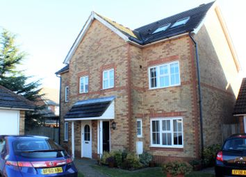 Thumbnail 4 bed semi-detached house for sale in Ingram Close, Hawkinge
