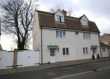 Thumbnail 2 bed town house for sale in Kings Gardens, Feering, Essex