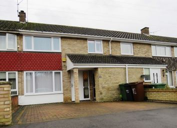 Thumbnail 3 bed terraced house for sale in Warminster Close, Corby