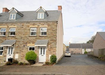 Thumbnail 3 bedroom end terrace house for sale in Lady Beam Court, Kelly Bray, Callington