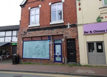 Thumbnail 3 bed terraced house for sale in Wheelock Street, Middlewich, Cheshire