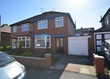 Thumbnail 3 bed semi-detached house for sale in Mount Road, Prestwich Manchester