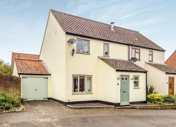 Thumbnail 3 bed semi-detached house for sale in Stewards Close, Reepham, Norwich