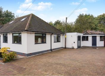 Thumbnail 4 bed detached bungalow for sale in Grimstock Hill, Coleshill, Birmingham