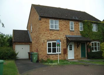 Thumbnail 3 bed semi-detached house to rent in Cantors Court, Bishops Cleeve, Cheltenham