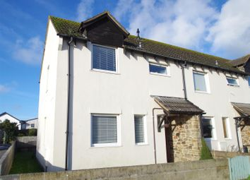 Thumbnail 2 bedroom end terrace house for sale in Garden Close, Braunton