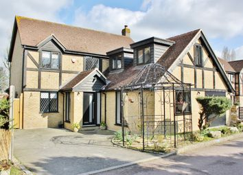 Thumbnail 4 bed detached house to rent in Lambourne Close, Chigwell