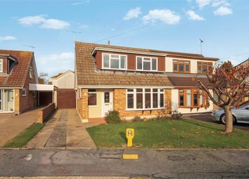 Thumbnail 3 bed semi-detached house for sale in Elizabeth Drive, Wickford, Essex