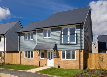 Thumbnail 4 bed detached house for sale in Grasslands, Capel Le Ferne, Built By Jarvis Homes