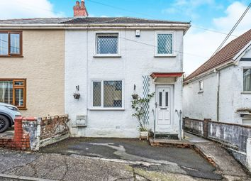 Thumbnail 3 bedroom semi-detached house for sale in Minyrafon Road, Clydach, Swansea